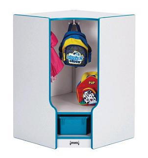 6683jcww-rainbow-accents-toddler-corner-coat-locker-w-step-w-trays