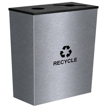 rc-mtr-2ss-metro-collection-two-stream-receptacle-stainless-steel