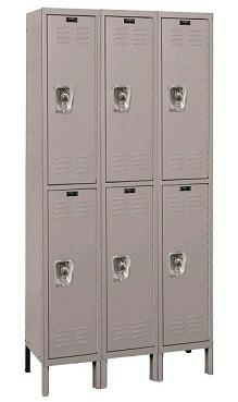 urb3288-2a-readybuilt-double-tier-3-wide-lockers-w-locks-12-w-x-18-d-x-36-h