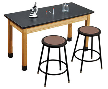 slt24602-6218-10-one-acid-resistant-science-lab-table-two-18-black-stools-60-x-24