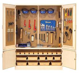 tc-11wt-metalworking-tool-storage-cabinet-w-tools-60-w