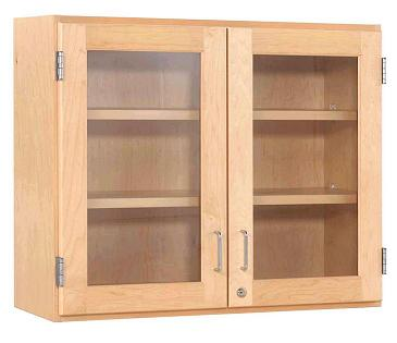 d06-4212m-maple-double-door-wall-cabinet-42-w-glass-doors