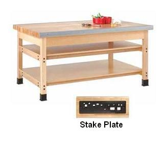 smb-840b-sheet-metal-bench-96-w-2-stake-plates