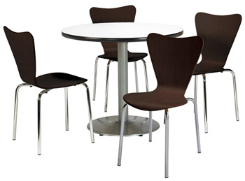 silver-base-cafe-table-with-four-3888-stack-chairs-by-kfi