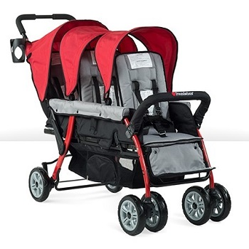 4130079-sport-splash-trio-stroller-red