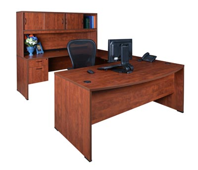 sudbfh713542-double-pedestal-u-desk-w-hutch