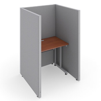 t1x16337v-rize-series-privacy-station-1x1-configuration-w-full-vinyl-63-h-panel-3-w-desk