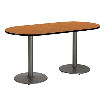 t3672r-b1922-sl-racetrack-cafe-table-w-round-silver-base-36-x-72