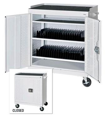 mobile-tablet-storage-cart-by-sandusky-lee
