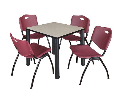 tb4242bp47-kee-base-cafe-table-and-four-m-stacker-4700-chairs-42-square