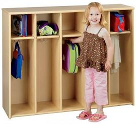 3060a-eco-fivesection-locker-unit-toddler-height-wout-trays