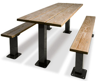 349-pt6-traditional--multi-pedestal-picnic-table-pressure-treated-6-foot