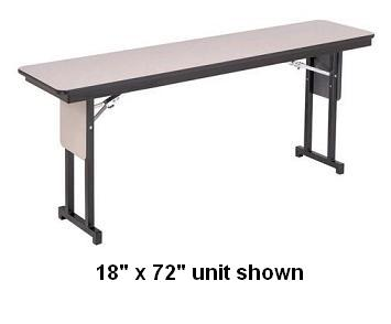ltp186-training-table-w-t-leg-18-x-72