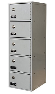 uctl192-5a-k-pl-cell-phone-tablet-locker-5-tier-1-wide-key-lock