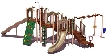 uplay-015-n-slide-mountain-playground-natural-colors