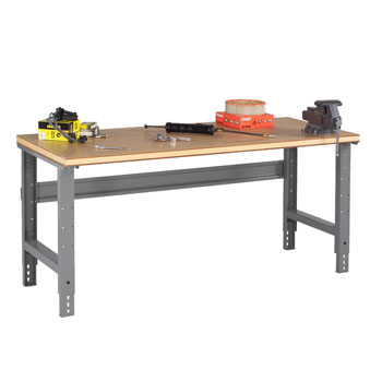 compressed-wood-top-workbenches-with-adjustable-legs-by-tennsco