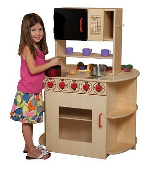 Example of Daycare Play Kitchen Set