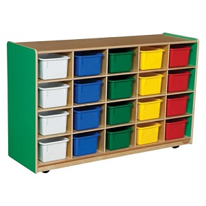 Healthy Kids Colors Cubby Storage By Wood Designs