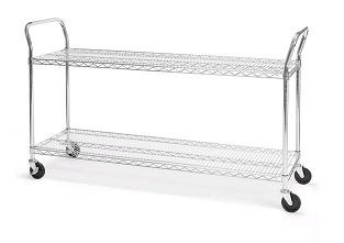 shcart1860-wire-storage-cart-60-w-x-18-d