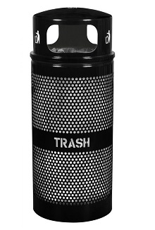 wr-34rdm-landscape-series-perforated-trash-receptacle-with-dome-top