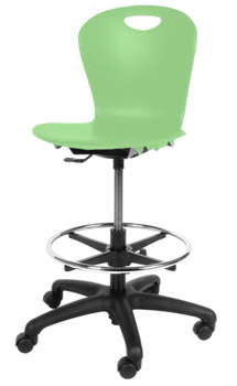 All Zuma Adjustable Lab Stool By Virco Options Stools