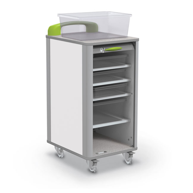 91411 Makerspace Mobile Tub Storage Cart Small