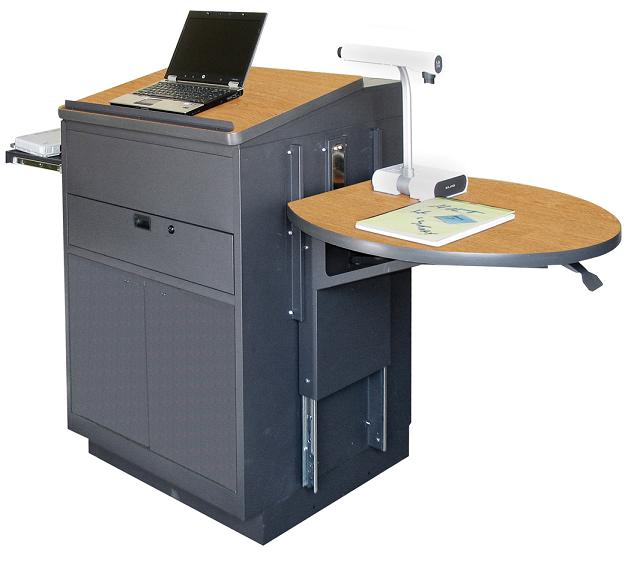 zlsm3030-media-center-lectern-steel-doors
