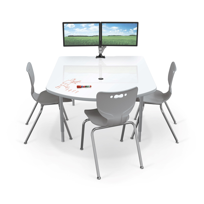 Mediaspace Multimedia Table with Dry Erase Top by Balt
