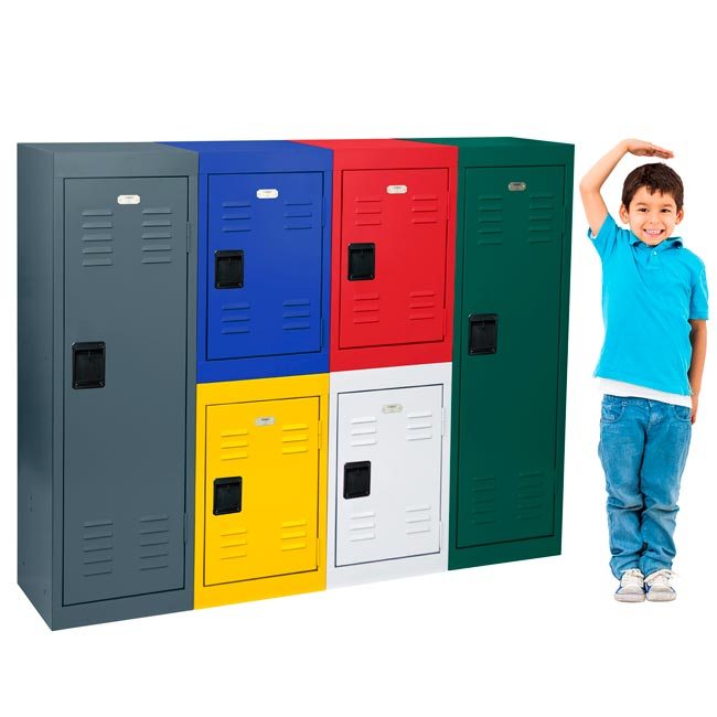 All Kids Storage Lockers Single Tier Metal Locker By
