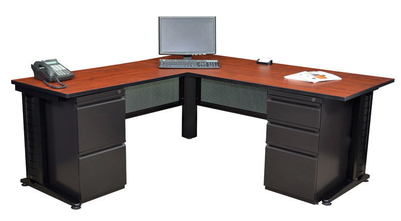 fusion-double-pedestal-l-desk-by-regency