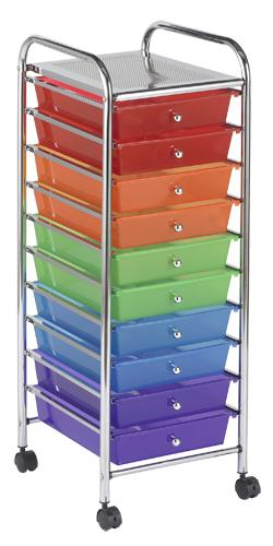 elr-009-mobile-organizer-cart-10-drawer