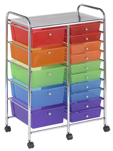 elr-20103-mobile-organizer-cart-15-drawer