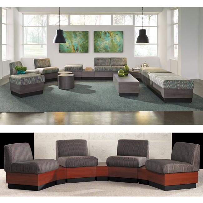 All Modular Reception Seating By High Point Options