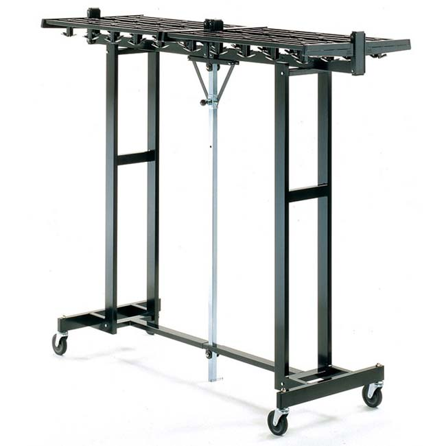 Magnuson Group 96W 144 Hook Capacity Portable Folding Coat Rack