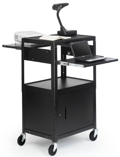 Bretford Adjustable Multimedia Cart
