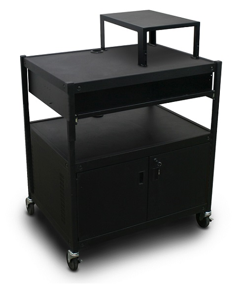 spartan-series-media-projector-carts-w-bin-cabinet-expansion-shelf