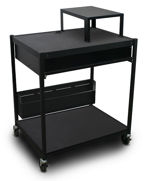 spartan-series-media-projector-carts-w-bin-expansion-shelf-by-marvel