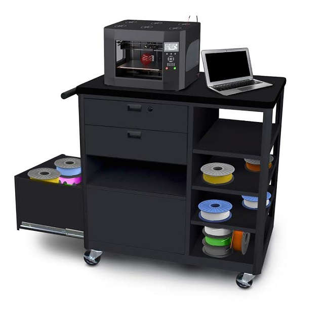 mvg3624bkbk-2-mobile-3d-printer-workstation-w-2-drawers