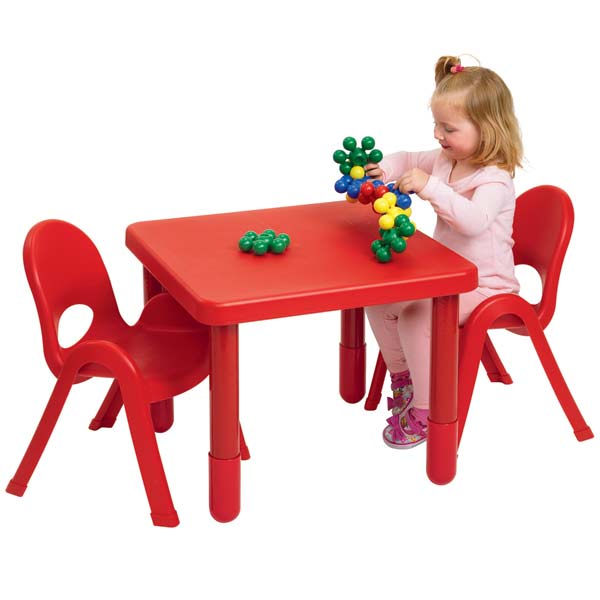 Angeles Myvalue Set 2 Preschool Matching Table And Chairs Ab715202