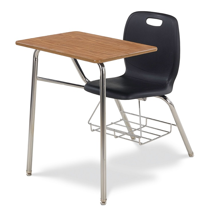Chair And Desk Combo virco n2 series combo school desk - n240br | combo chair desks