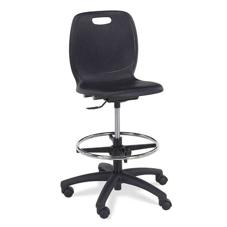 Tall Drafting Chair With Arms Cramer Ever Heavy Duty