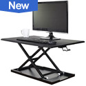 Click to Convert Your Desk to a Stand Up Desk