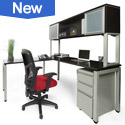 Click to see New L-Shaped Desk Suite by NDI