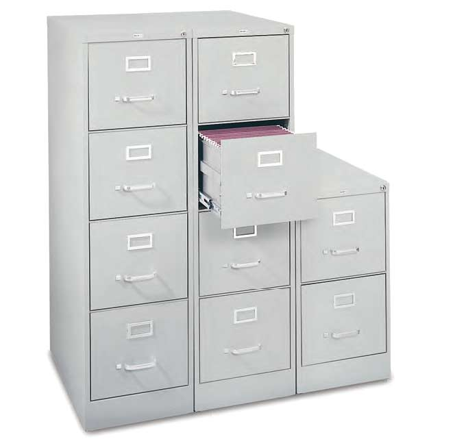 Attirant Mf1162 Letter Vertical Steel File Cabinet 2 Drawer
