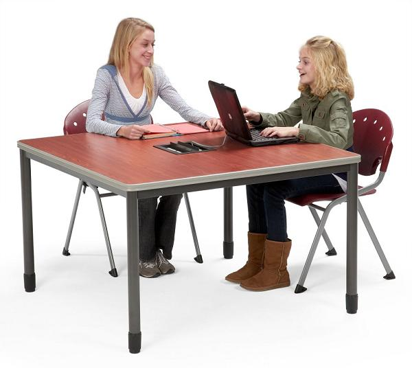 Ofm Electric Ready Mesa Media Table X Computer - Ofm training table