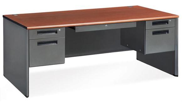 77372-double-pedestal-panel-end-desk-36-x-72