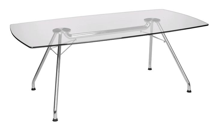 Gt3977 Glass Conference Table 39 X 77