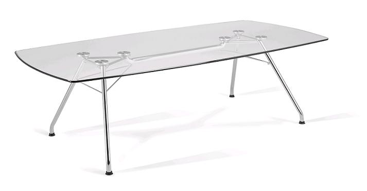 Beau Gt4794 Glass Conference Table 47 X 94