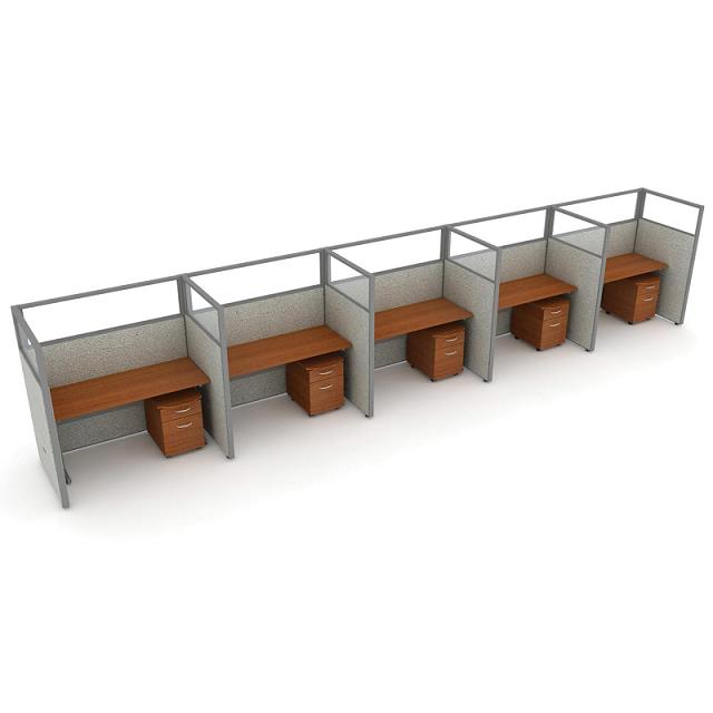 t1x56360v-rize-series-privacy-station-1x5-configuration-w-full-vinyl-63-h-panel-5-w-desk