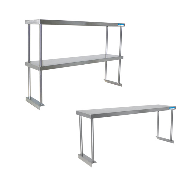 Stainless Steel Over Shelves by Shain